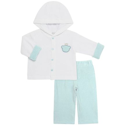 2401272-A-roupa-bebe-crianca-conjunto-casaco-calca-plush-cotele-Baby-Classic-1
