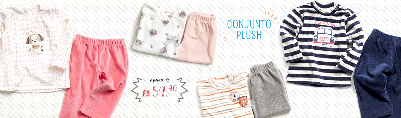 Banner Home Conjuntos Plush Outlet Vicky Lipe
