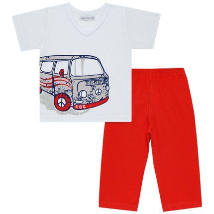 C1986_A-Roupa-Bebe-Kids-Menino--Pijama-Curto-Cara-de-Crianca-1