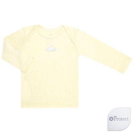 CMTL1736-a-Roupa-Bebe-Baby-Kids-Menino-Menina-Camiseta-Longa-Suedine-Baby-Protect-Mini-Kids