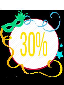 Segundo Banner Seleção de Produtos com 30% de Desconto