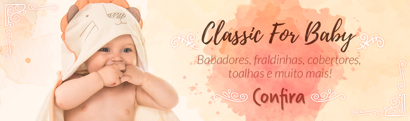 Banner Home Grande - Classic For Baby Outono 2016