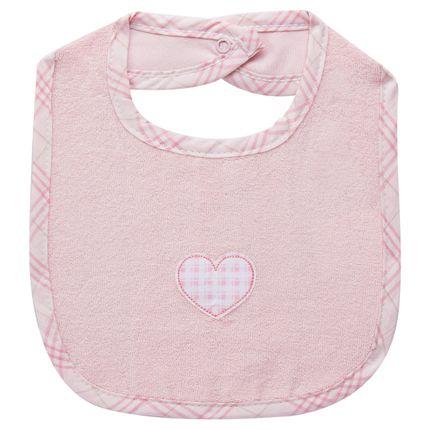 BBB000301A-Enxoval-Maternidade-Bebe-Menina-Babador-Atoalhado-Classic-for-Baby