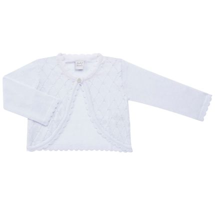 roupa-bebe-menina-casaquinho-bolero-perolas-branco