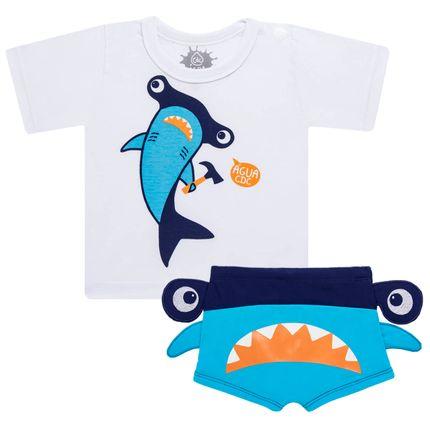 KIT1-2910-1-Moda-Bebe-Baby-Moda-Praia-Kit-camiseta-Sunga-Cara-de-Crianca