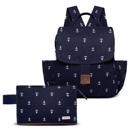 KIT-5-NAVY-MCN9043-FN9043-kit-de-bolsas-maternidade-mochila-necessaire-navy-marinho-classic-for-baby-bags