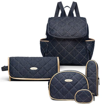 KIT-3-GOLDEN-DENIM-MCJ9046-TCJ9046-KAJ9046-kit-de-bolsas-maternidade-mochila-trocador-kit-acessorios-golden-denim-classic-for-baby-bags