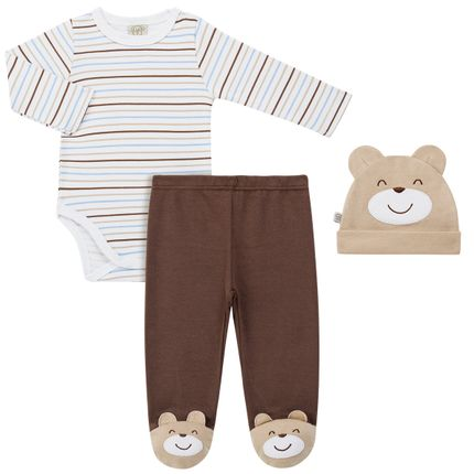 PL65741_A-moda-bebe-menino-conjunto-body-longo-calca-mijao-touca-malha-Pingo-Lele