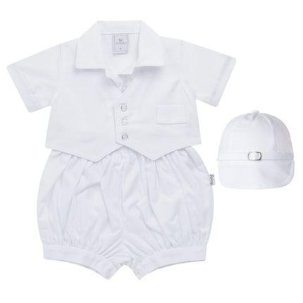 SZ273_A-Moda-Batizado-Menino-Camisa-com-Colete-e-Shorts-Bone-Sylvaz
