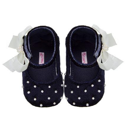 20032014008_A-moda-bebe-menina-sapatilha-marinho-perolas-laco-Roana