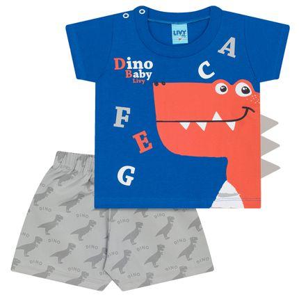 LV4959.AZ_A-moda-bebe-menino-camiseta-malha-shorts-tactel-Dino-Livy