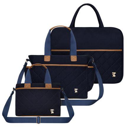 MSCB9043-BHM9043-FTHP9043--id-63643--Bolsa-Maternidade-Casual-Sarja-Marinho---Classic-for-Baby-Bags