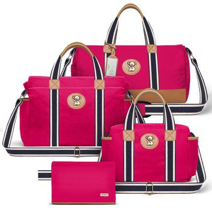 MA238-BSA238-FSGC238-FA238--id-65407--Bolsa-Maternidades-Kit--Adventure-Pink---Classic-for-Baby-Bags