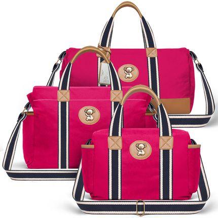 MA238-BSA238-FSGC238--id-65408--Bolsa-Maternidades-Kit--Adventure-Pink---Classic-for-Baby-Bags