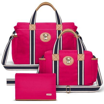 BSA238-FSGC238-FA238--id-65409--Bolsa-Maternidades-Kit--Adventure-Pink---Classic-for-Baby-Bags