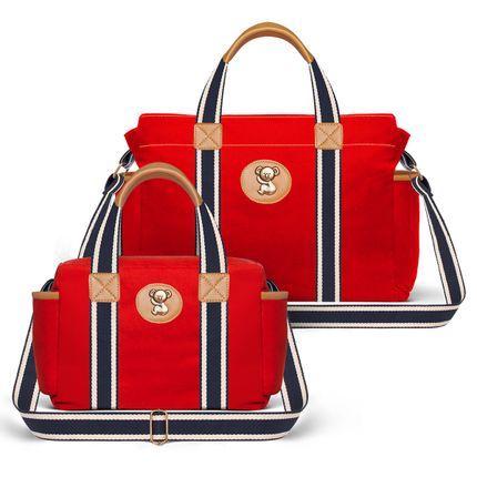Bolsas-Maternidade-Kit-Adventure-Sarja-Vermelho---Classic-for-Baby-Bags
