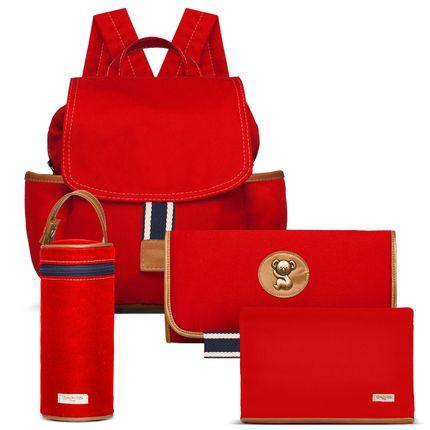 MCA9042-TCSA9042-PMSA9042-FA9042--id-71872--Bolsas-Maternidade-Kit-Adventure-Sarja-Vermelho---Classic-for-Baby-Bags