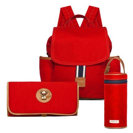 MCA9042-TCSA9042-PMSA9042--id-71873--Bolsas-Maternidade-Kit-Adventure-Sarja-Vermelho---Classic-for-Baby-Bags
