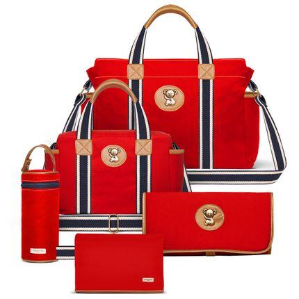 BSA9042-FSGC9042-FA9042-TCSA9042-PMSA9042--id-53162--Bolsas-Maternidade-Kit-Adventure-Sarja-Vermelho---Classic-for-Baby-Bags