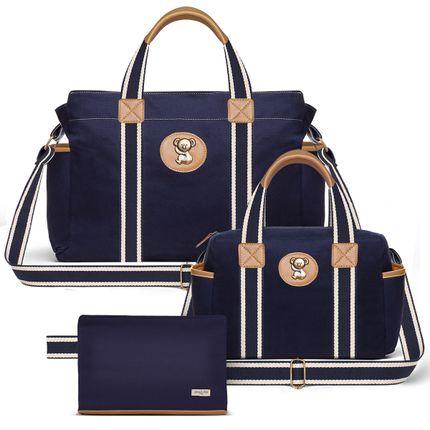 BSA9043-FSGC9043-FA9043--id-54010---Bolsa-Maternidade-Kit-Sarja-Marinho---Classic-for-Baby-Bags