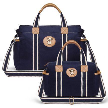 --Bolsa-Maternidade-Kit-Sarja-Marinho---Classic-for-Baby-Bags
