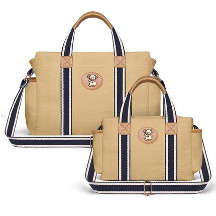 BSA1643-FSGC1643--id-56023--Bolsa-Maternidade-Kit-Adventure-Caramelo---Classic-for-Baby-Bags