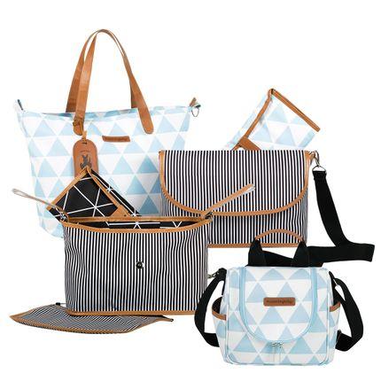 MB12MAN398.04---MB12MAN238.04---MB12MAN601.02-Bolsa-Maternidade-Kit-3-pecas-Manhattan-Azul---Masterbag
