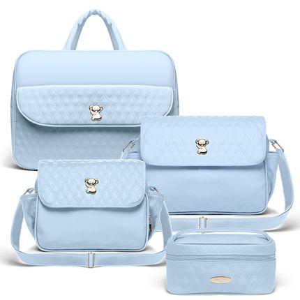 BBK9023-BMK9023-FNK9023-FK9023--Kit-4-Pecas-Golden-Koala-Azul---Classic-for-Baby-Bags