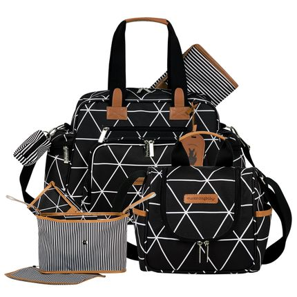 MB12MAN299.02---MB12MAN238.02---MB12MAN601.02--ID-76041---Bolsa-Maternidade-Manhattan-Preta-Kit-3-pecas---Masterbag
