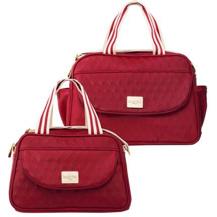 WKIT-2-9042-bolsas-maternidade-bolsa-m---bolsa-p-classic-cadarco-cereja-Classic-for-Baby-Bags