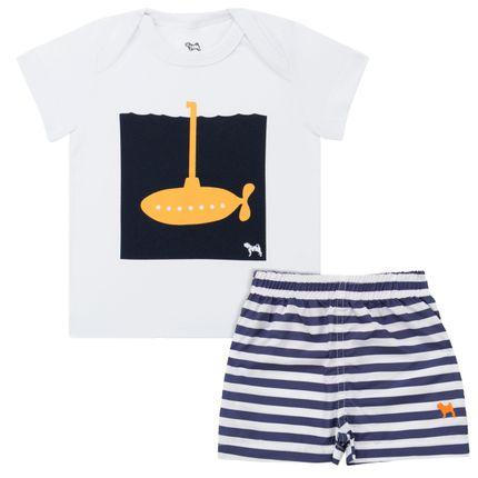 CY22053_A-moda-bebe-menino-camiseta-transpassada-em-suedine-com-shorts-tactel-listrado-Charpey