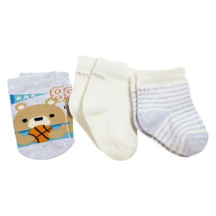 PK6963-MC-moda-bebe-menino-tripack-meias-Basket-Puket