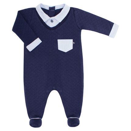 22794571_A-moda-bebe-menino-macacao-longo-golinha-suedine-matelassado-chambray-azul-marinho-Mini-Sailor-Bebefacil-loja-de-roupas-e-enxoval-para-bebes