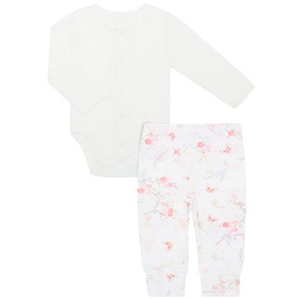 42K08H73_A-moda-bebe-menina-conjunto-body-longo-aberto-algodao-egipcio-calca-mijao-pe-reversivel-flores-Bibe-no-Bebefacil-loja-de-roupas-e-enxoval-para-bebes