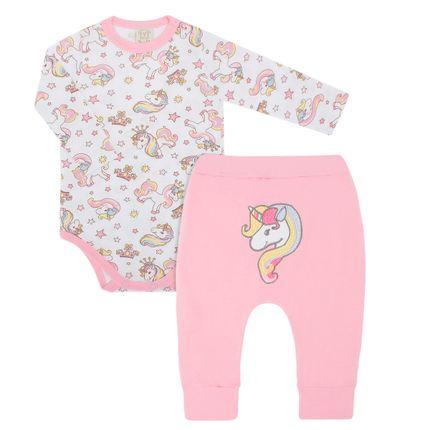 PL75069_A-moda-bebe-menina-conjunto-body-longo-calca-saruel-malha-unicornio-Pingo-Lele-no-Bebefacil-loja-de-roupas-e-enxoval-para-bebes