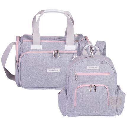 MB11MOL210.25---MB11MOL307.25-Bolsa-Termica-Anne---Mochila-Maternidade-Noah-Moletom-Rosa---Masterbag