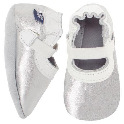 BABO48_A-sapatinhos-bebe-menina-sapatilha-mary-jane-prata-Babo-Uabu-no-Bebefacil-loja-de-roupas-e-enxoval-para-bebes