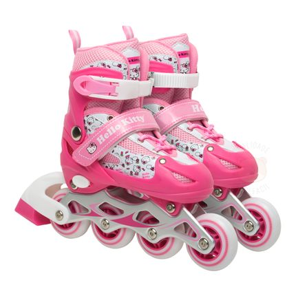 BR764-A-Patins-Inline-Hello-Kitty-Tam-P-Rosa---Multikids-Baby