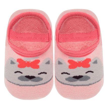 LK044326_A-moda-bebe-menina-meia-sapatilha-ursinha-Leke-no-Bebefacil-loja-de-roupas-e-enxoval-para-bebes