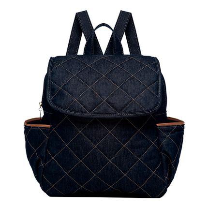 MCJ9091-A-Mochila-Maternidade-Golden-Denim-Camurca---Classic-for-Baby-Bags