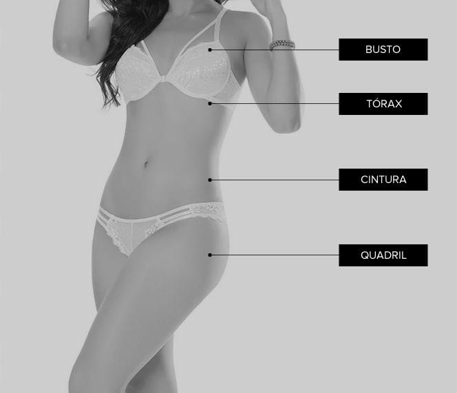Tabela de tamanhos DelRio