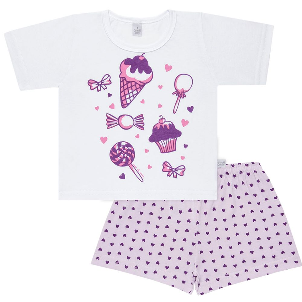 U1998_A-Roupa-Bebe-Kids-Menina--Pijama-Curto-Cara-de-Crianca-1