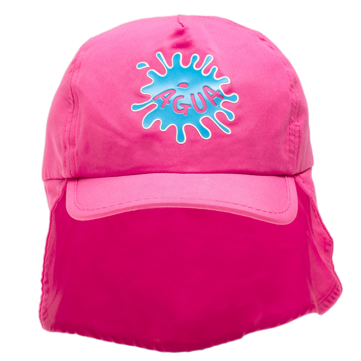 b033ce7ba1956 Boné c  proteção em microfibra Pink - Cara de Criança - bebefacil