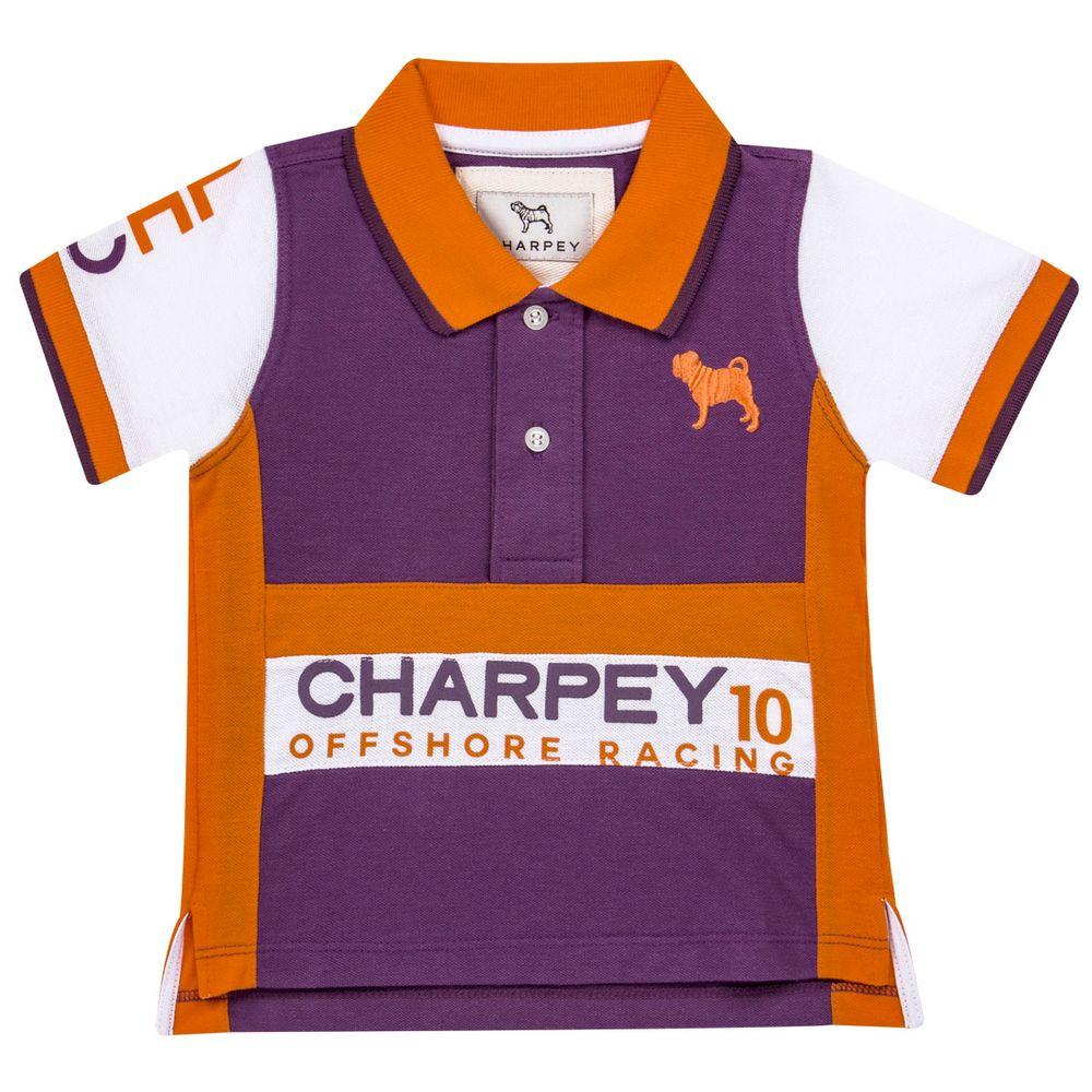 6888a97b71 Camiseta Polo em piquet Racing - Charpey no Bebefacil a sua loja de roupas  e enxoval para bebês - bebefacil