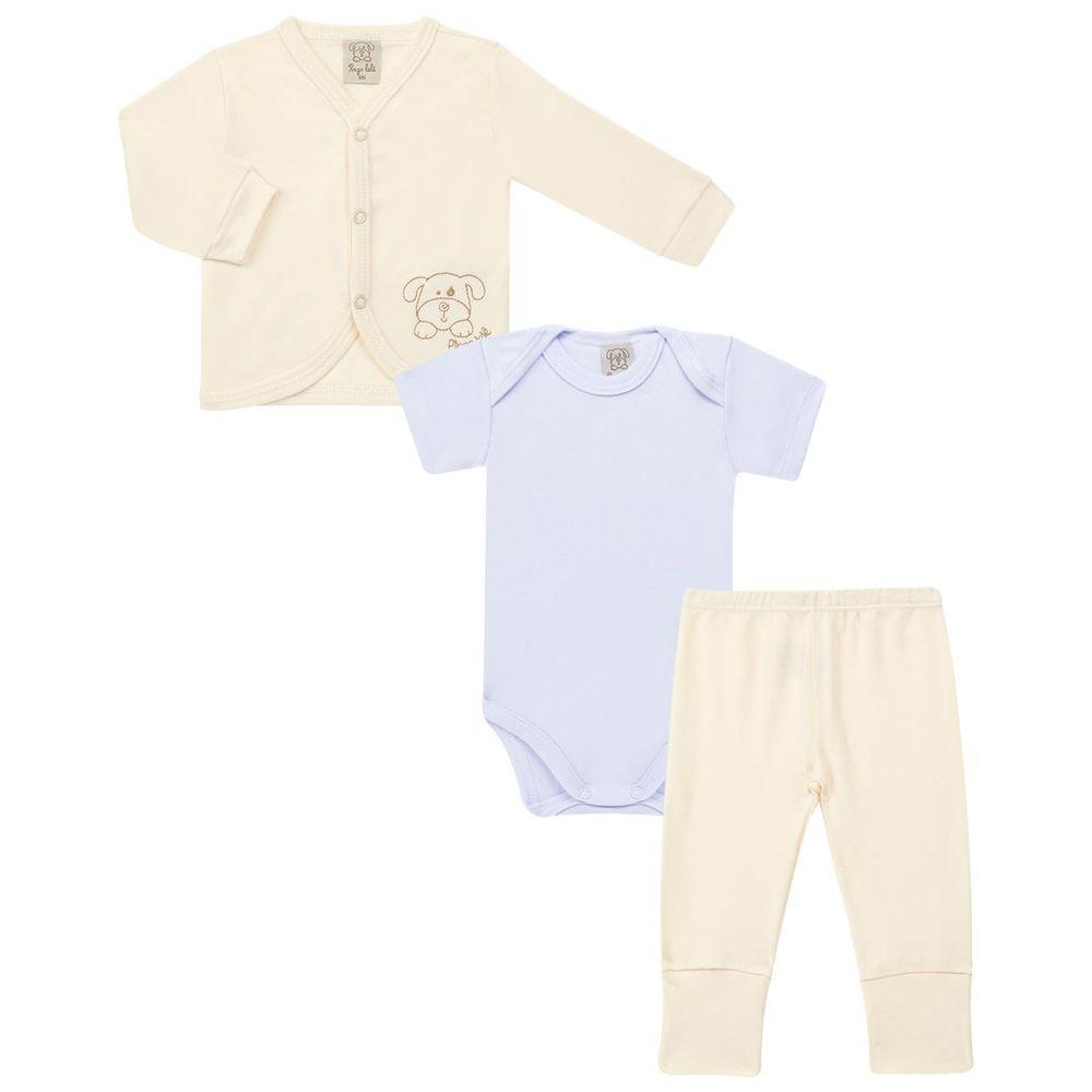 moda-bebe-conjunto-pagao-casaquinho-body-curto-calca-mijao-Pingo-Lele