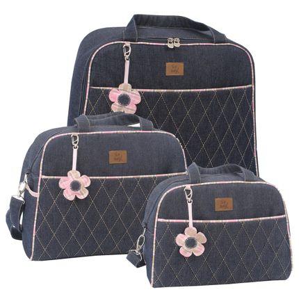 Kit-Jeans-rosa-Mala---bolsa---frasqueira