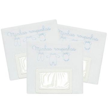 PRMK4510-a-Enxoval-Kit-Porta-Roupinhas-Maternidade-Roupinhas-Classic-For-Baby
