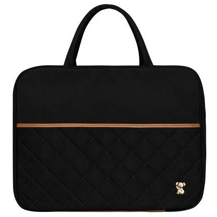 MSCB9045-Bolsa-Maternidade-Mala-Casual-Sarja-Preto---Classic-for-Baby-Bags