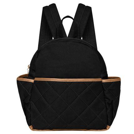 MSBC9045-Bolsa-Maternidade-Mochila-Casual-Sarja-Preto---Classic-for-Baby-Bags