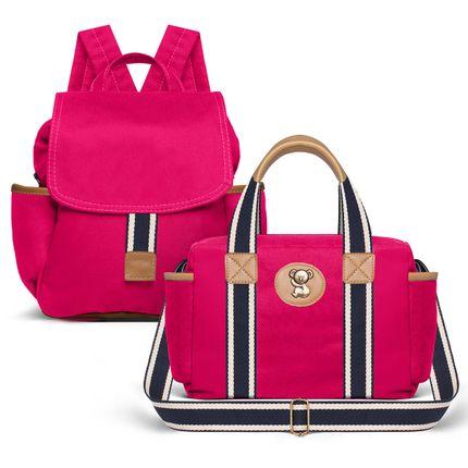 MCA238-FSGC238--id-71854--Bolsa-Maternidades-Kit--Adventure-Pink---Classic-for-Baby-Bags